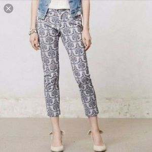 Anthropologie Cartonnier Charlie Ankle Pants